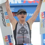 First 70.3 professional victory!