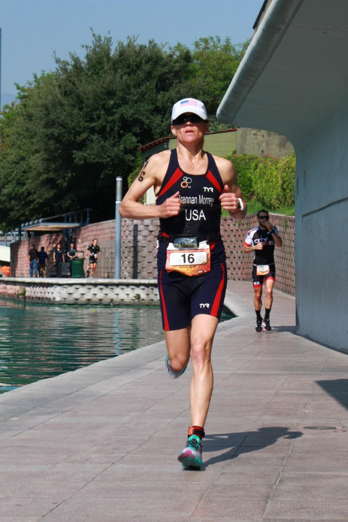 Monterrey 70.3 run happy shot